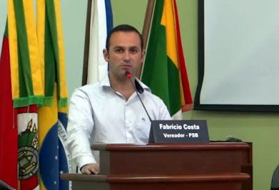 FABRÍCIO COSTA APRESENTA PROJETO VISANDO IMPLANTAR O PROGRAMA JOVEM SOCORRISTA NAS ESCOLAS DO MUNICÍPIO