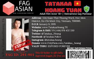 Tatakaa Hoang Tuan - The process from police to gay pornstar models