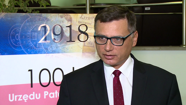 Adam Taukert, rzecznik prasowy Urzędu Patentowego RP - biznes.newseria.pl
