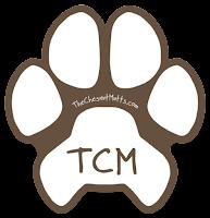 TCM paw print sticker