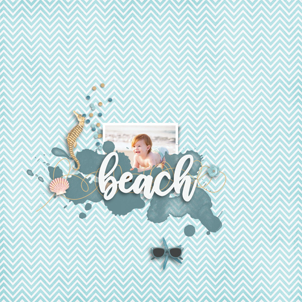 beach © sylvia • sro 2019 • sand between my toes by luv ewe designs
