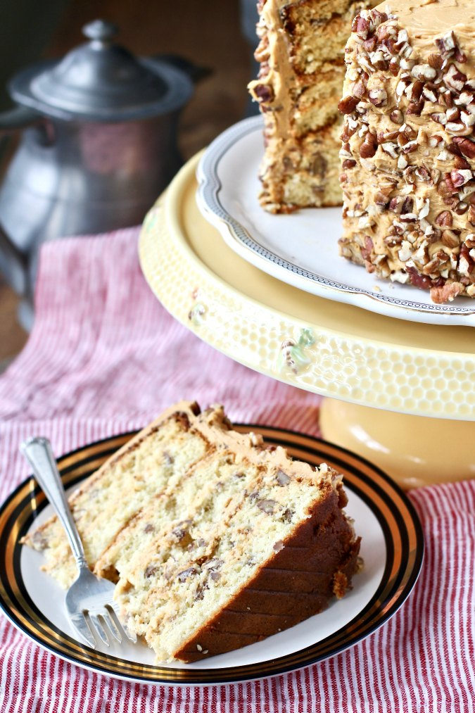 Ukrainian Caramel Honey Cake