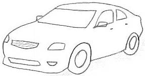 Auto: Car drawing