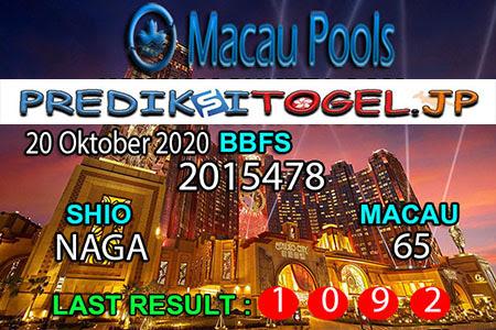 Prediksi Togel Wangsit Macau Pools Selasa