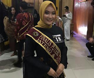 Brelyantika Indra Jesa, Juara 1 Puteri Pendidikan Jateng 2020