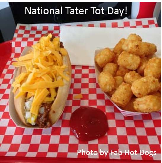 National Tater Tot Day Wishes Images download