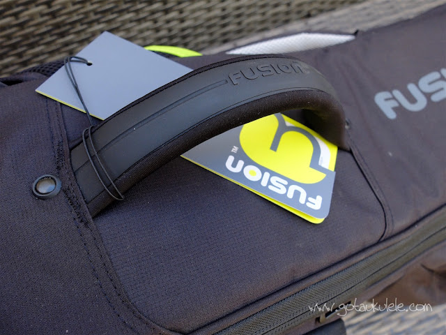 fusion urban double ukulele bag carry handle