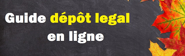 Guide dépôt legal en ligne pdf