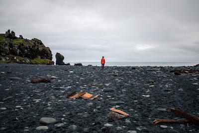 Playa de Djúpalónssandur en la Península de Snaefellsness