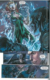 """Reseña de """"Liga de la justicia: El trono de Atlantis"""" de Geoff Johns [ECC Ediciones]`"""