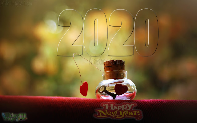 Happy New Year 2020 Love Photo Greetings