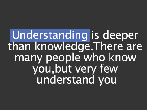 Quotes About Understanding People. QuotesGram