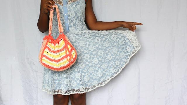 DIY // Crochet Summer Bag Free Pattern!