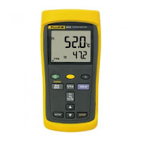Contact Thermometer, Fluke, Fluke 52 II, Infrared Temperature