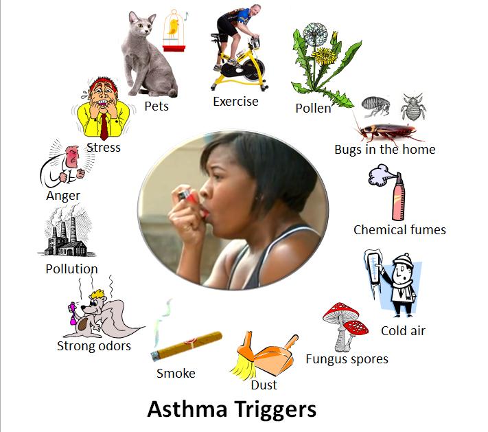 दमा / अस्थमा -  का आयुर्वेदिक और घरेलु इलाज