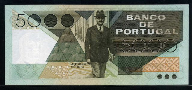 world paper money Portuguese escudo