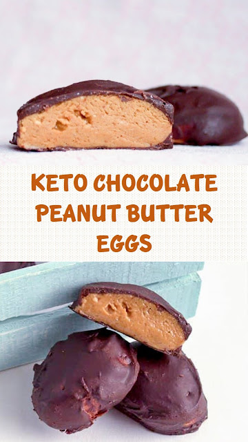 Keto Chocolate Peanut Butter Eggs