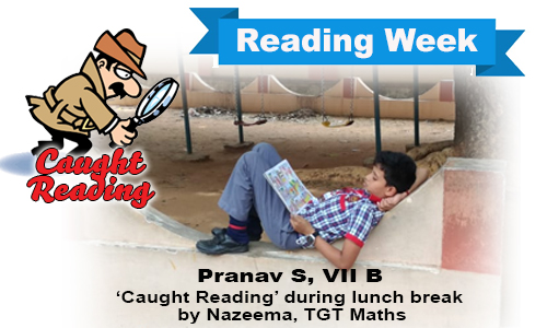 Raeding Week - Caught Reading