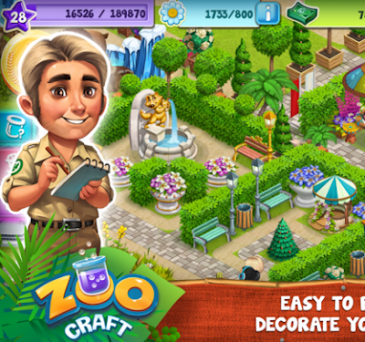 ZooCraft Mod Pro Crack Hack Apk Unlimited Free Download