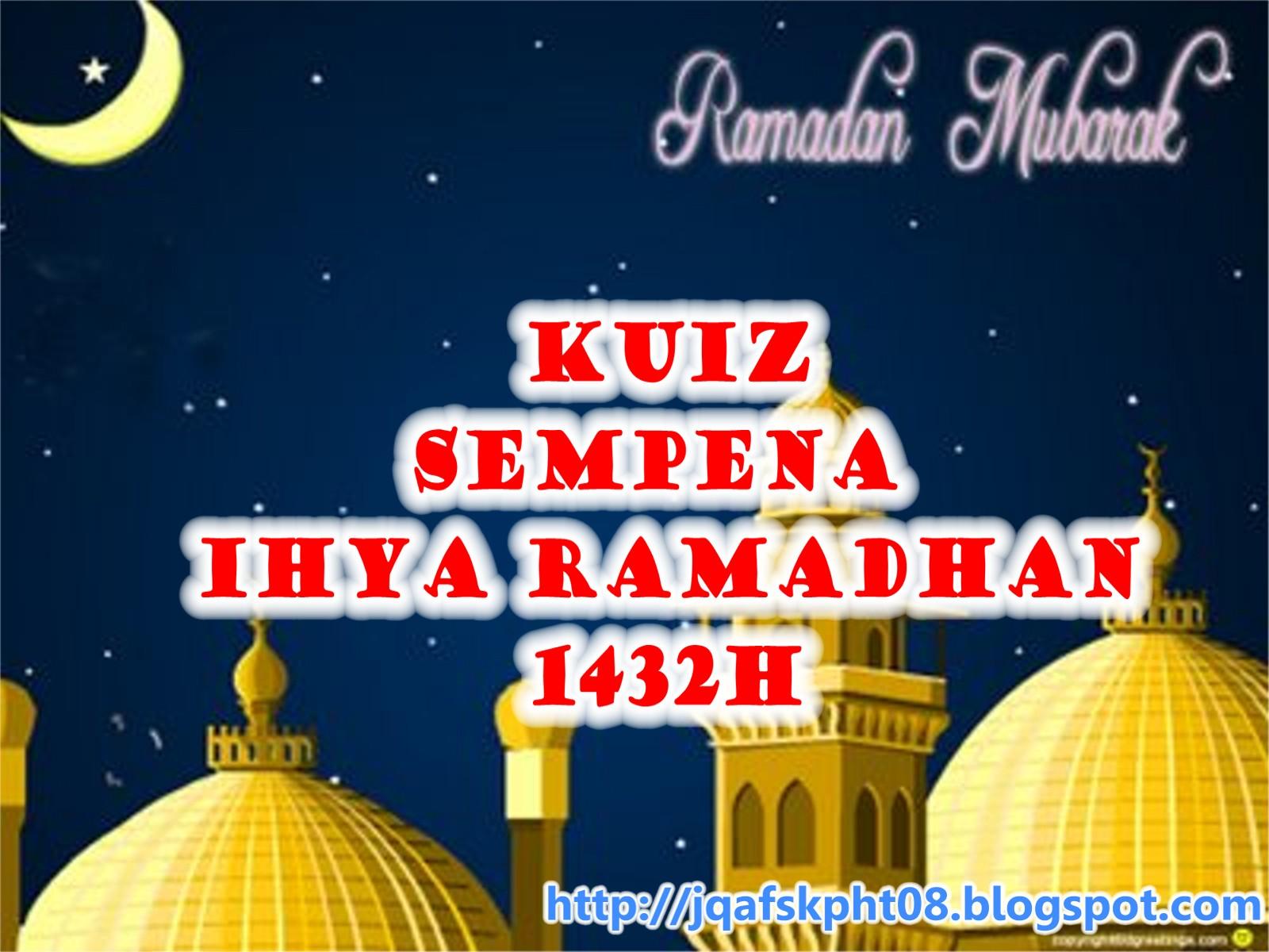 Soalan Berkaitan Ramadhan Pewarna O