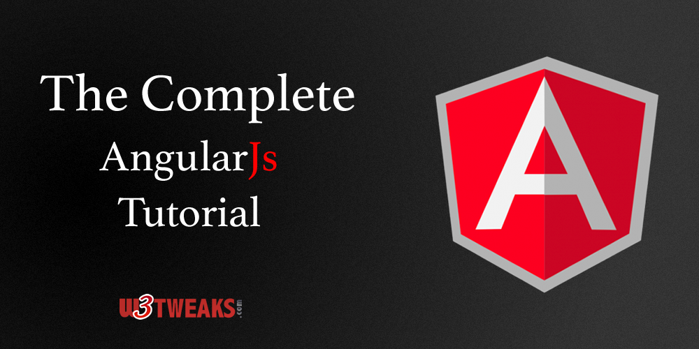 The Complete AngularJs tutorial