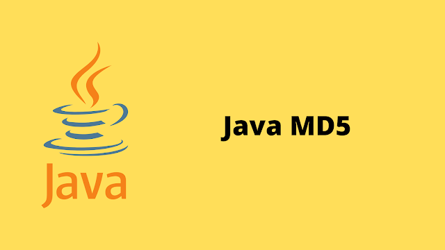 HackerRank Java MD5 problem solution