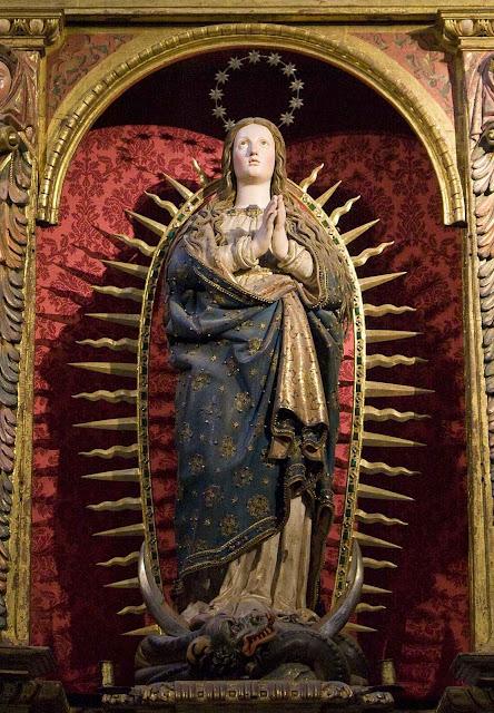 Imaculada Conceição, catedral de Segovia, Espanha