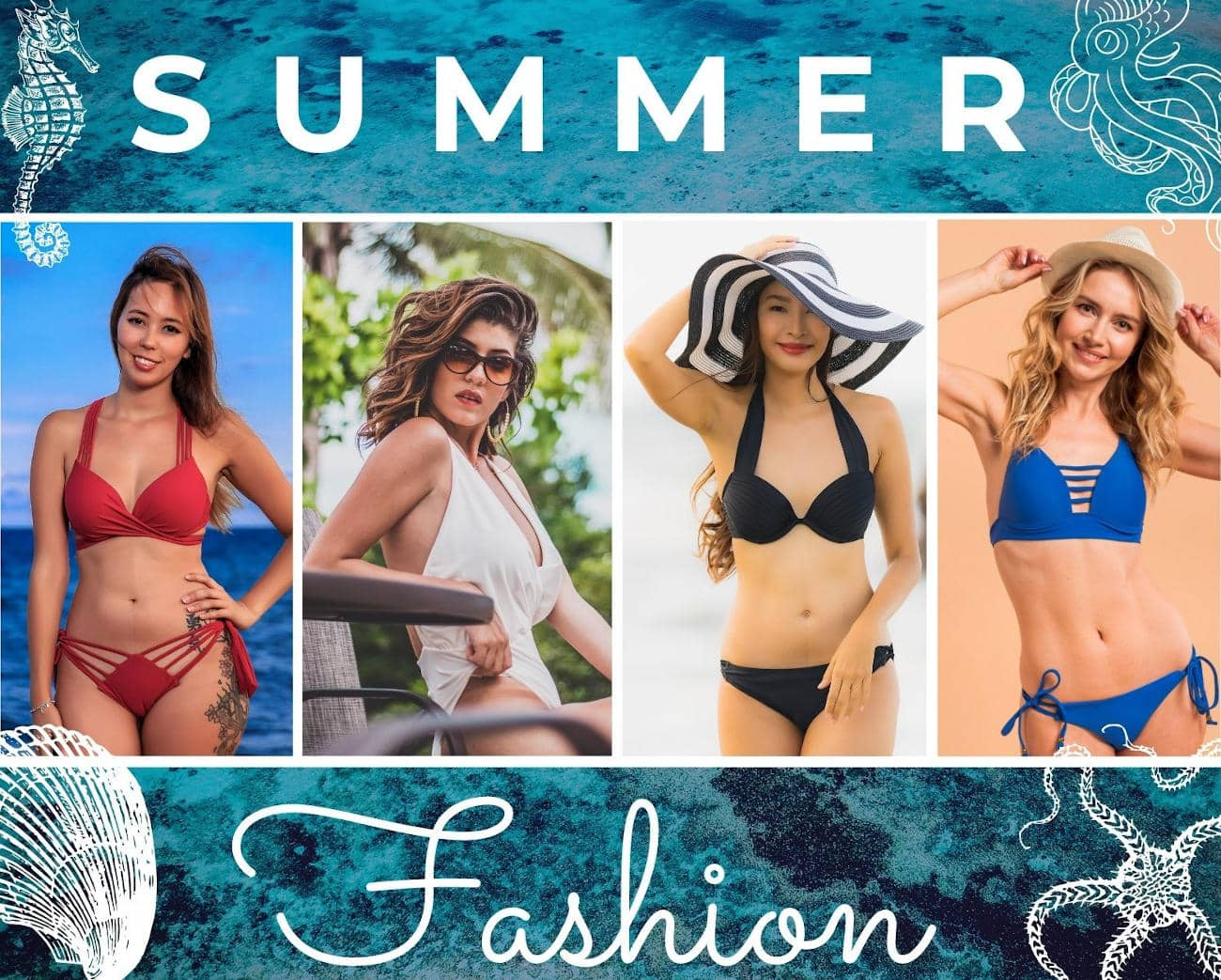 summer fashion swimsuits