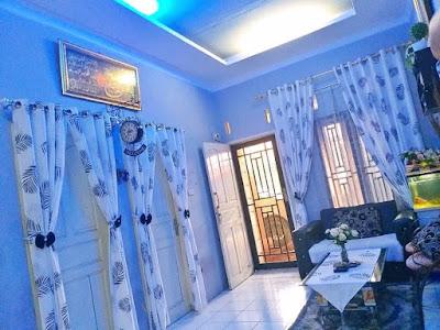 Dekorasi ruang keluarga cantik