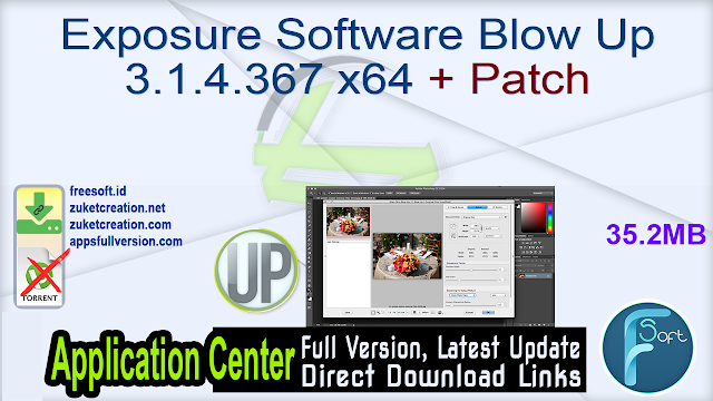 Exposure Software Blow Up 3.1.4.367 x64 + Patch