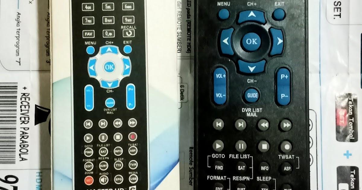 kode remote multi sea c master hd 6