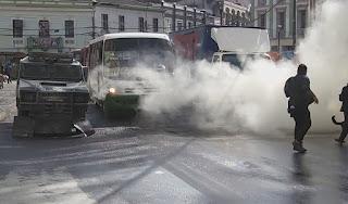 zorrillo gas lacrimogeno