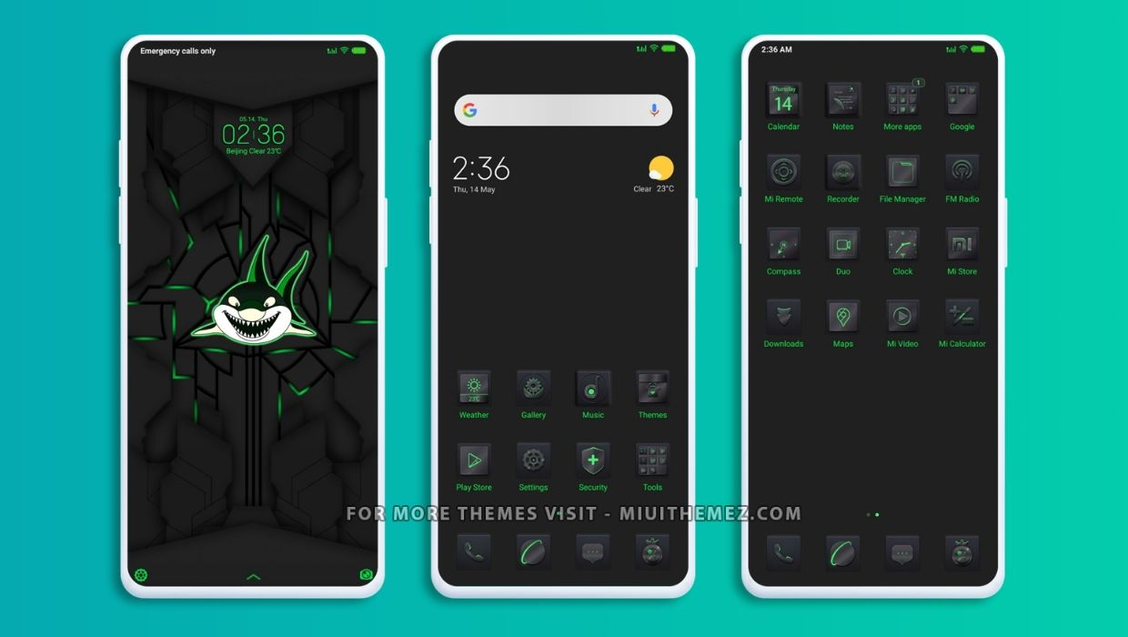 Black Shark Pro MIUI Theme