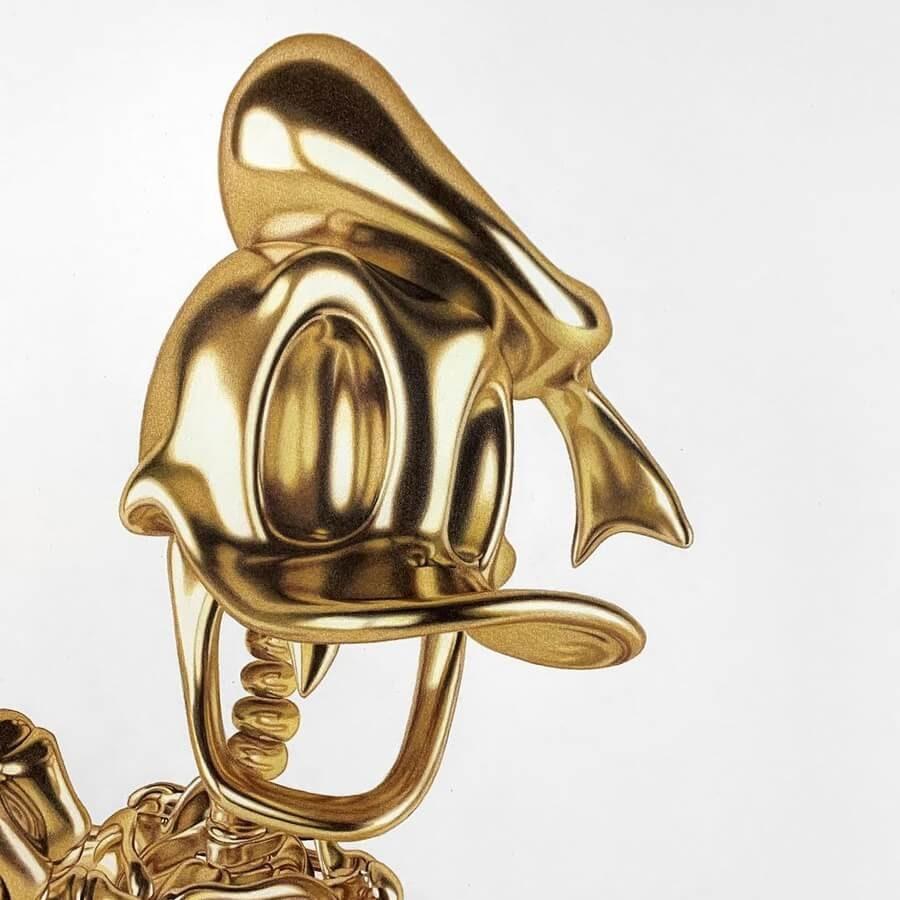02-Donald-Duck-Detail-Alessandro-Paglia-www-designstack-co