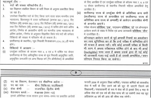 Chhattisgarh IMO Vacancy 2020