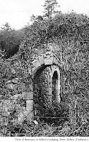 Image of doorway, Abbot's Lodging, Deer Abbey.