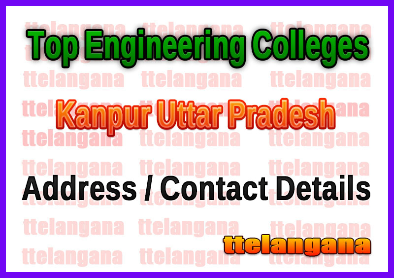 Top Engineering Colleges in Kanpur Uttar Pradesh