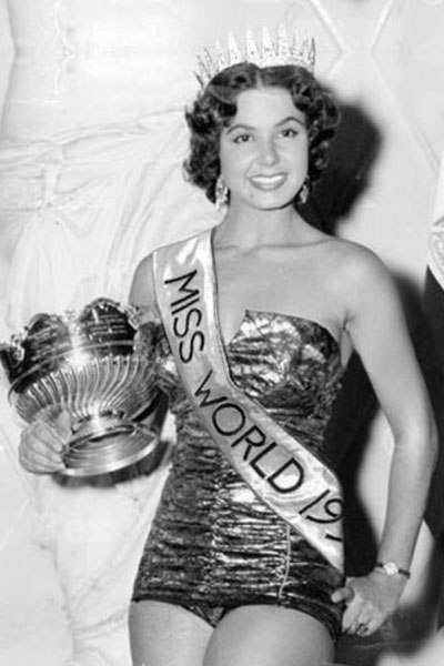 Miss World Of 1954 – Antigone Costanda