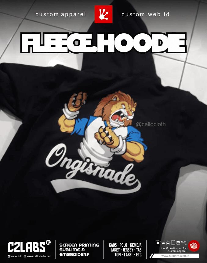Hoodie Custom Sablon Plastisol - Konveksi Jaket Jogja