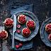 Tartellette vegan con ribes e lamponi per San Valentino