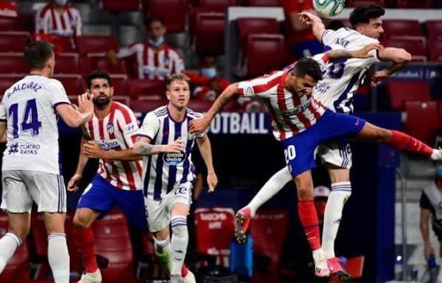 بث مباشر مشاهدة مباراة اتليتكو مدريد وبلد الوليد Live : atletico madrid vs real valladolid