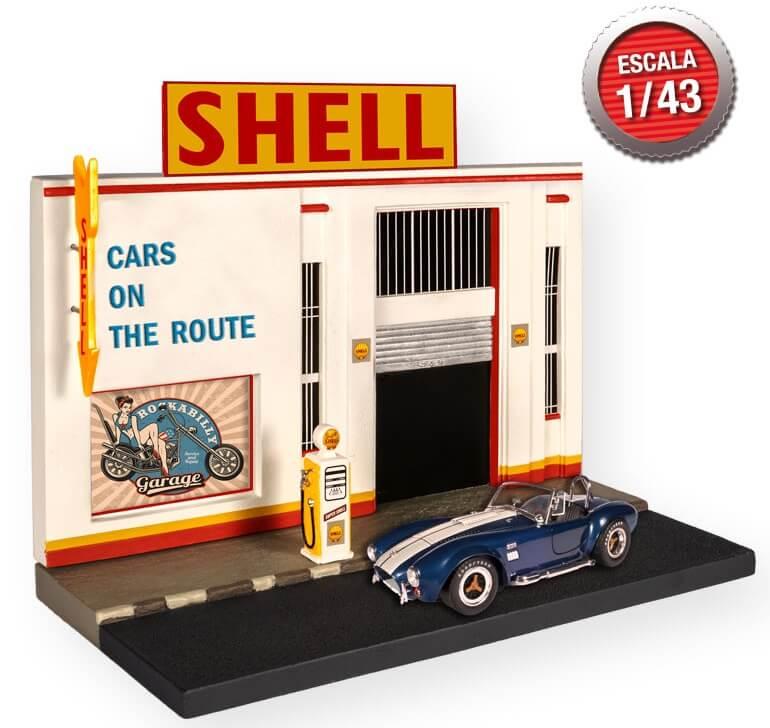 regalo diorama american cars altaya