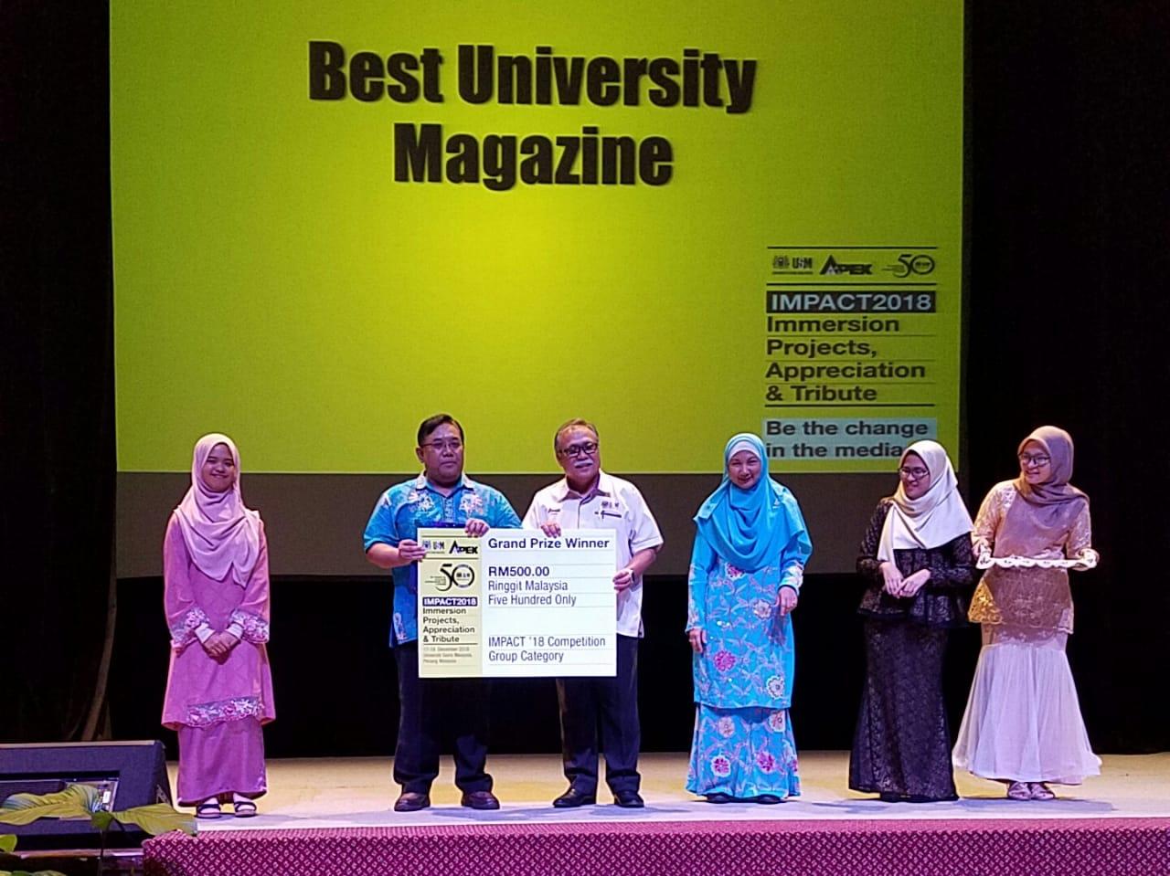 Majalah VISI Kembali Raih Penghargaan dalam Kompetisi