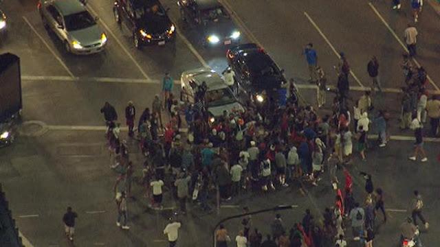 Jutaan Demonstran Turun Ke Jalan Di Amerika Memprotes Terpilihnya Trump