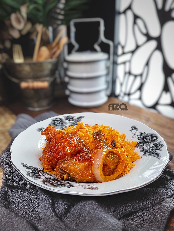 resipi nasi tomato simple