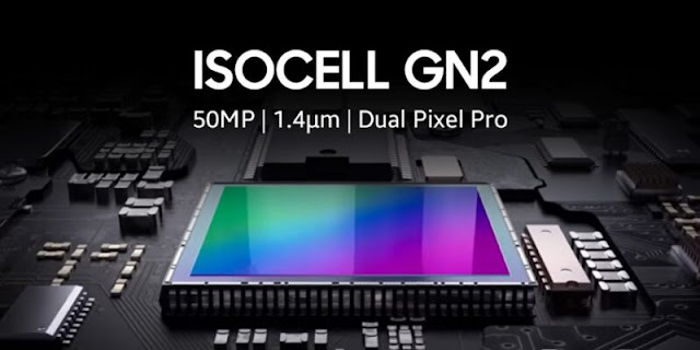 Samsung announces new 50MP ISOCELL GN2 camera sensor with Dual Pixel Pro.