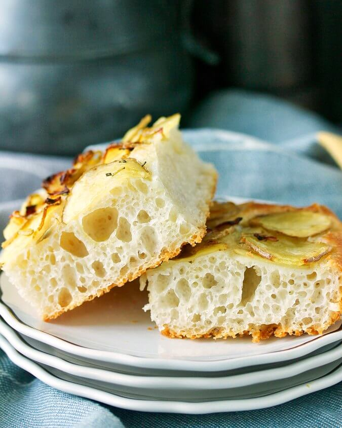 Potato Rosemary Focaccia