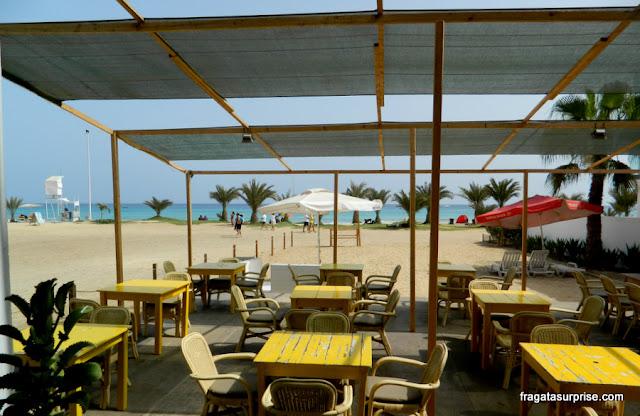 Restaurante da Ângela, Praia de Santa Maria, Cabo Verde