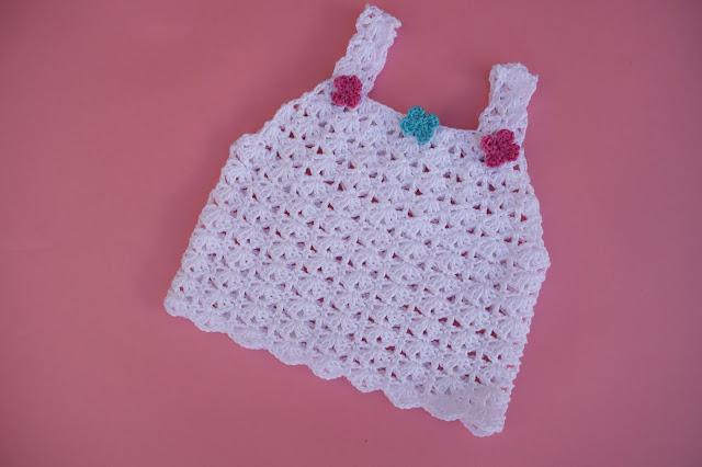 1 - Crochet Imagen Sencilla camiseta de tirantes para el verano a crochet por Majovel Crochet