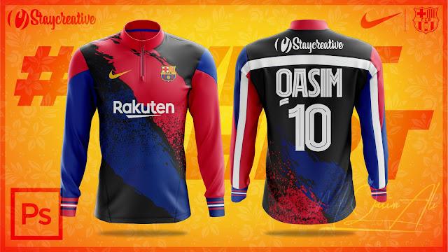 #mqasimali,#staycreative,Nike's FC Barcelona Zip Sweat Shirt Design Tutorial by M Qasim Ali,Nike's FC Barcelona,Zip Sweat Shirt Design Tutorial by M Qasim Ali,Shirt Design Tutorial by M Qasim Ali,Free Nike Shirt Mockup